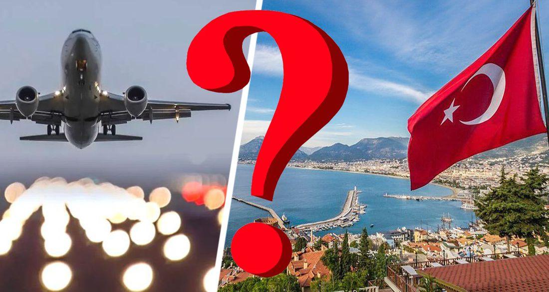 Вопросом закрытия полетов в Турцию займется Оперштаб