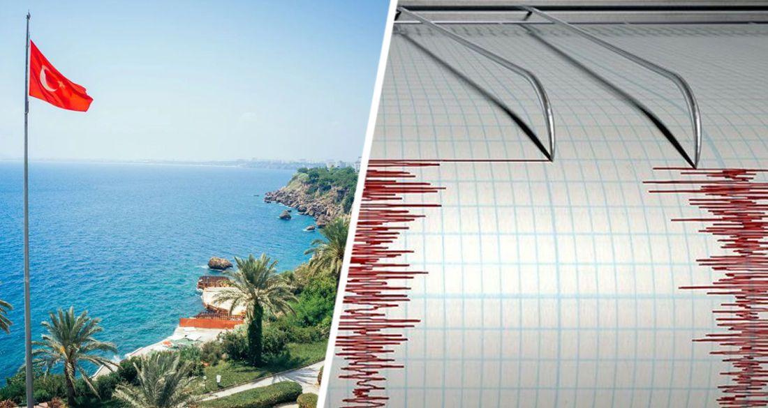 В Турции произошло обширное землетрясение: трясло все курортное побережье Анталии