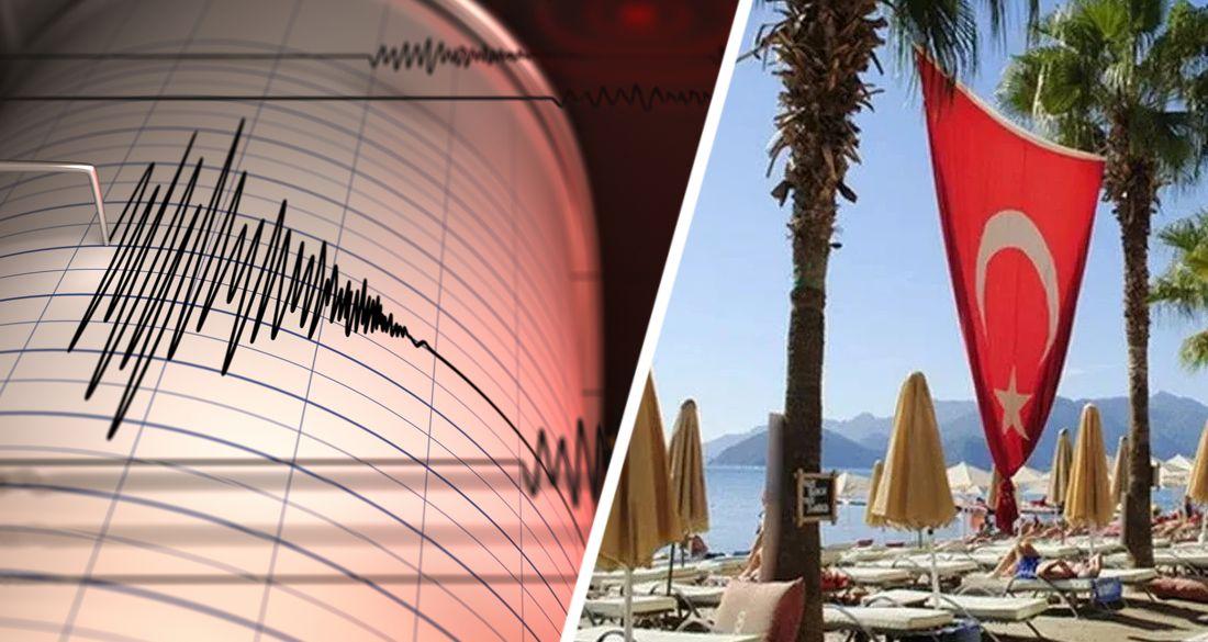 Землетрясение в Анталии напугало туристов