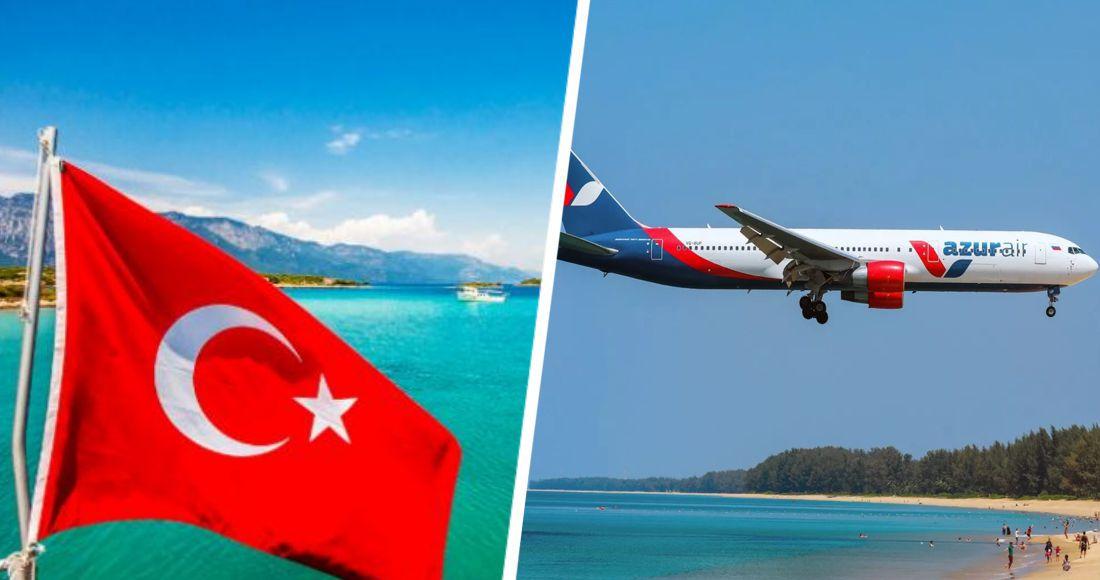Azur Air наращивает количество рейсов в Анталию из регионов