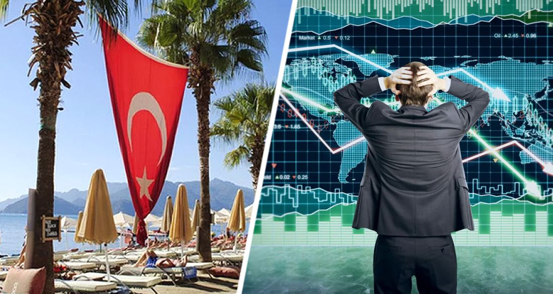 Туризм Турции тонет: европейцы не могут приехать из-за карантина, россияне - из-за запрета