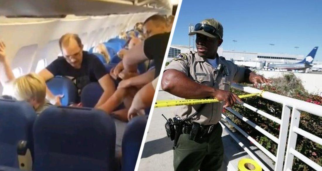 Турист выбил два зуба стюардессе за замечание