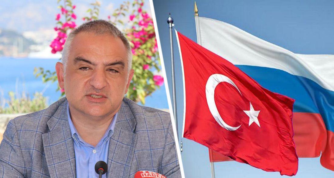 Министр по туризму Турции назвал критерий открытия страны для иностранных туристов