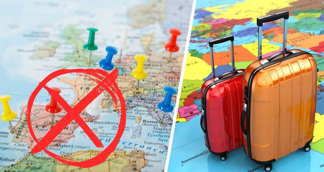 Туристам не рекомендовали ездить за границу до конца 2021 года