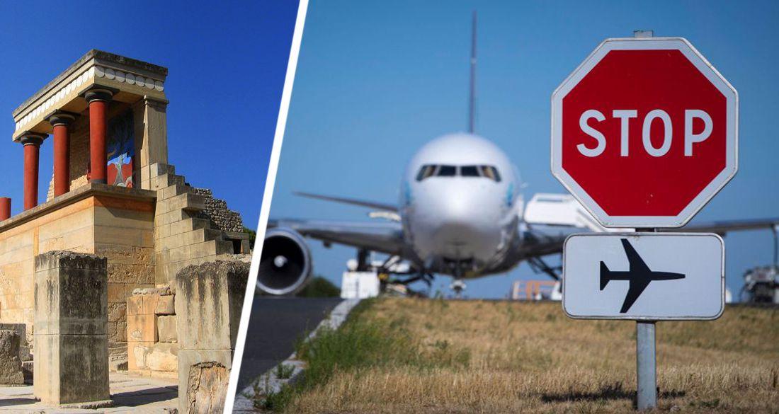 Туристы начали аннулировать туры на Крит