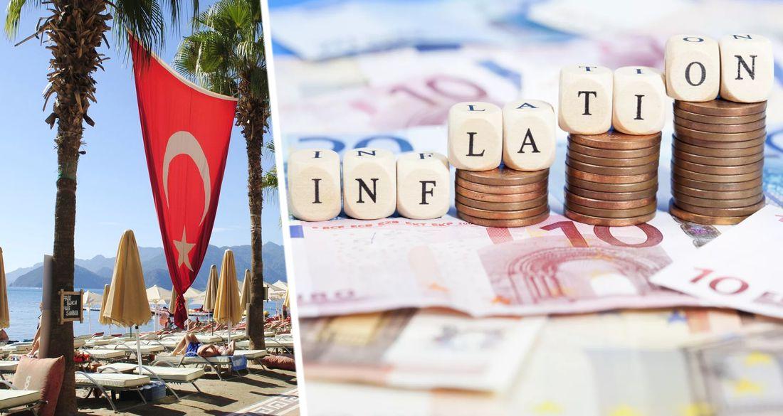 Цены в отелях Турции выросли на 17%: инфляция ускоряется