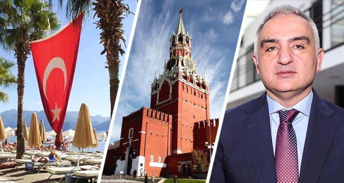 Министр по туризму Турции собрался в Москву пробивать открытие для российских туристов: стала известна дата визита