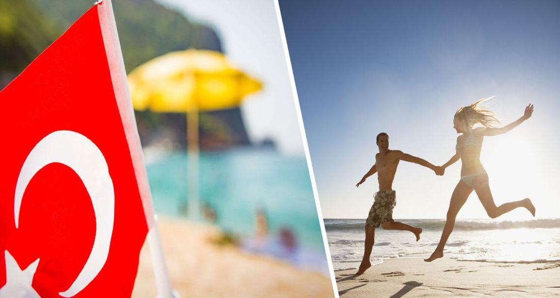 Температура в Анталии достигла +35°C в тени: пляжи полностью заполнены туристами
