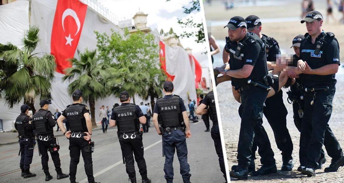 На курортах Турции началась операция по зачистке по кодовым названием «Приморский ветер»