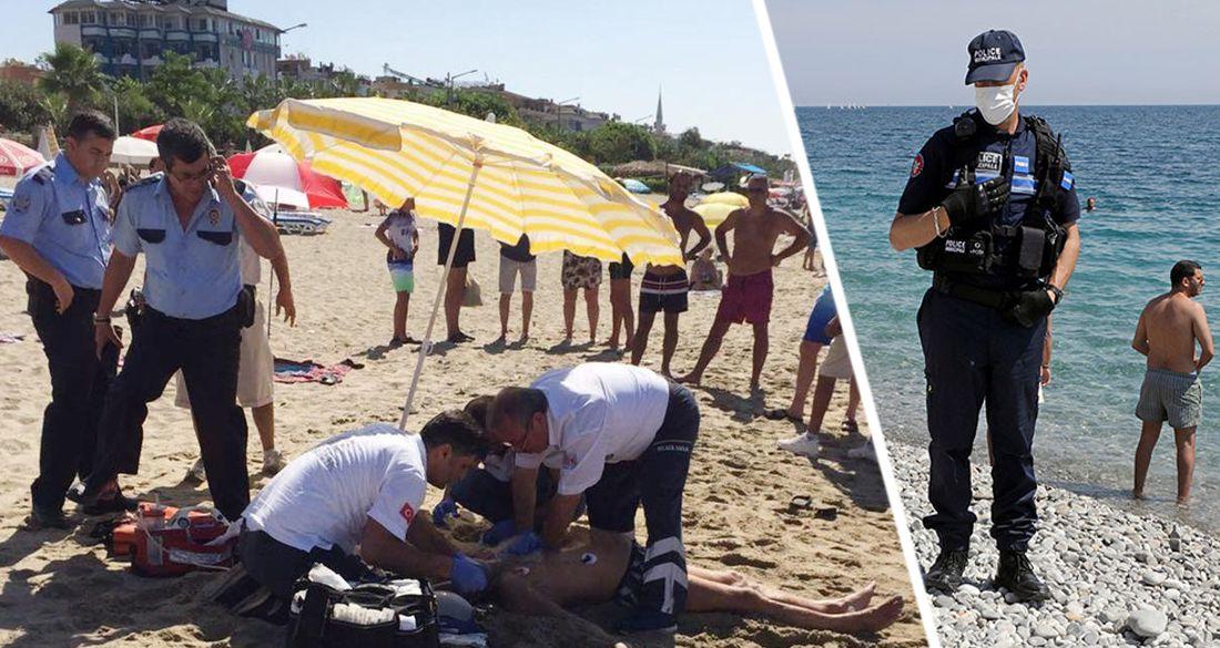 В Анталии туристка зашла в море и наткнулась на утопленника