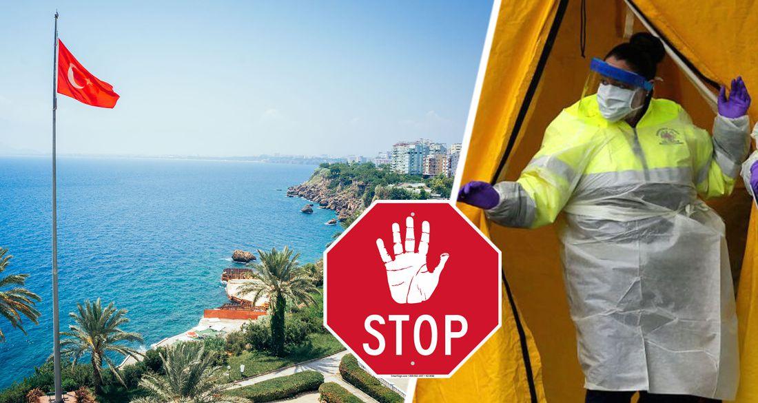 Турцию закрыли со всех сторон: начало лета сдвигается в неопределённость, начинается паника