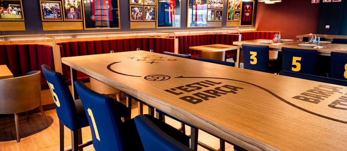 Barça Café: новый спортбар на стадионе Camp Nou в Барселоне