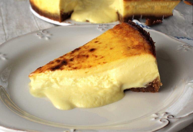 Готовим испанский сырный торт