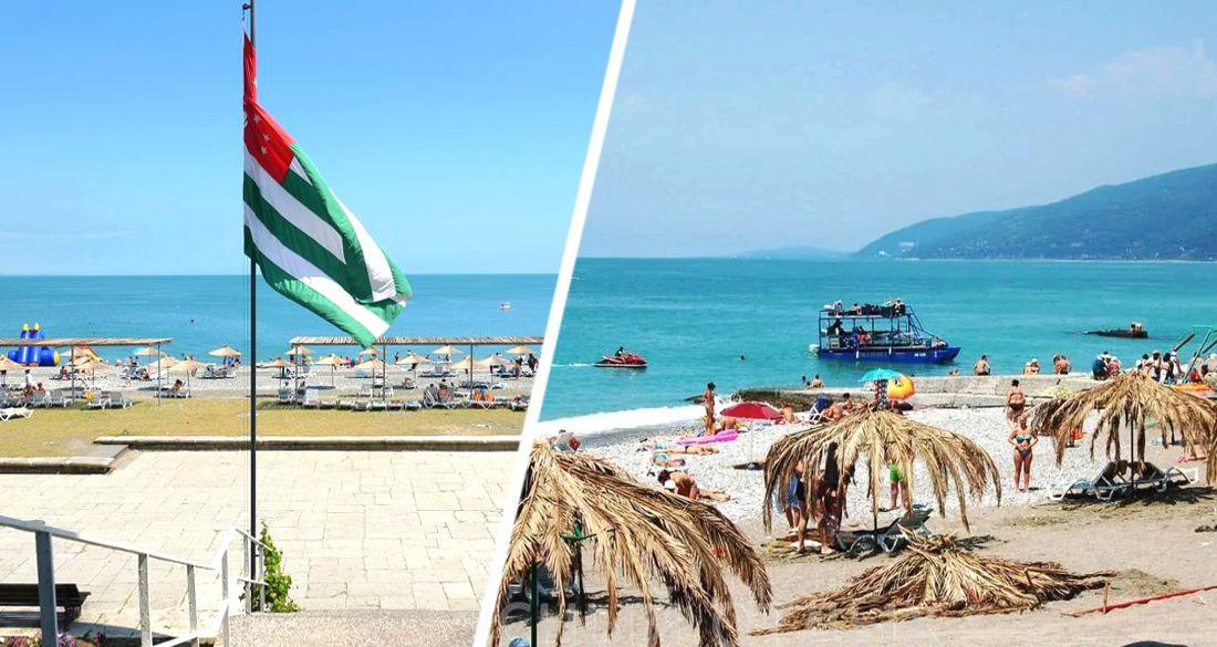 «В Сочи таких цен сейчас не найдешь»: туристы рассказали об обстановке в Абхазии