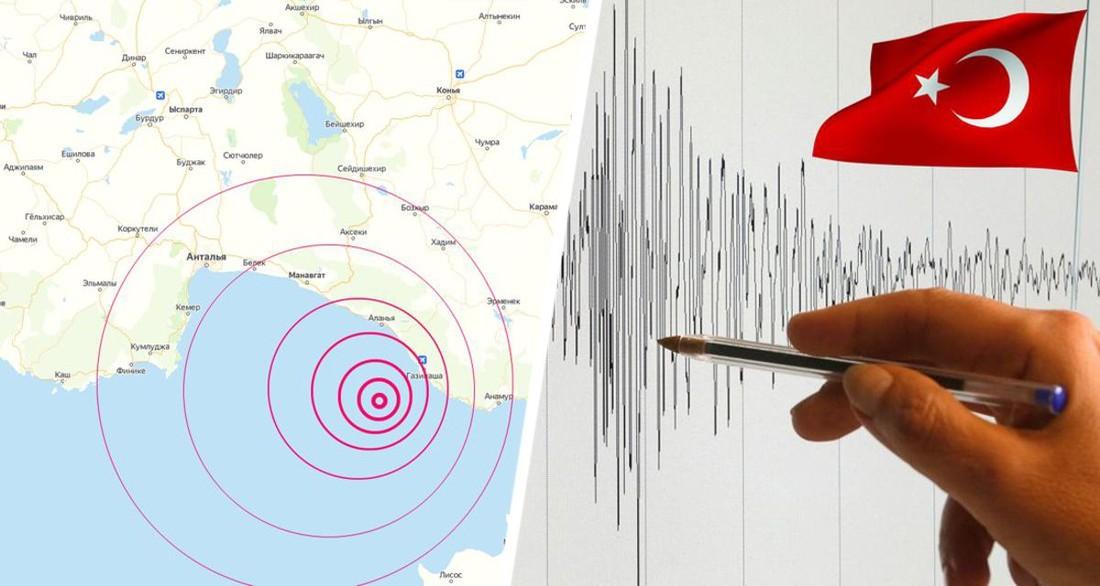 В первый день прибытия российских туристов на курортах Турции произошло землетрясение