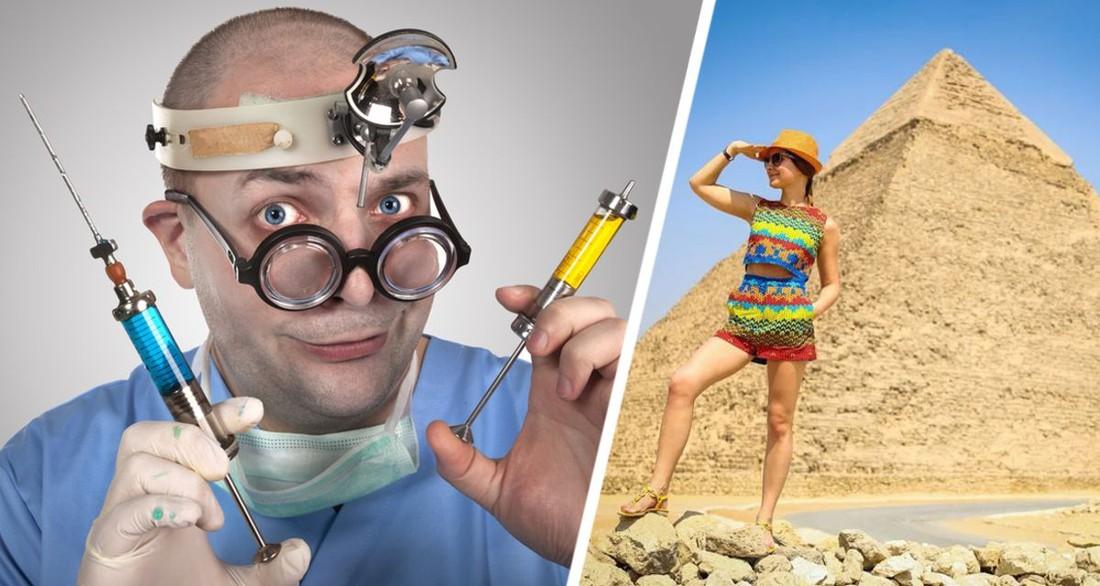 Туристка поехала на отдых в Египет и после укола врача попала в реанимацию