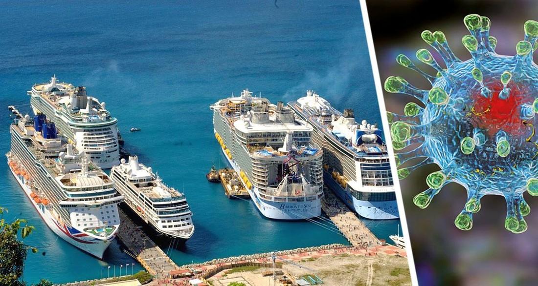 Круизному лайнеру запретили заход в порт из-за заболевшего ковидом туриста: прошлогодняя история ужасов повторяется