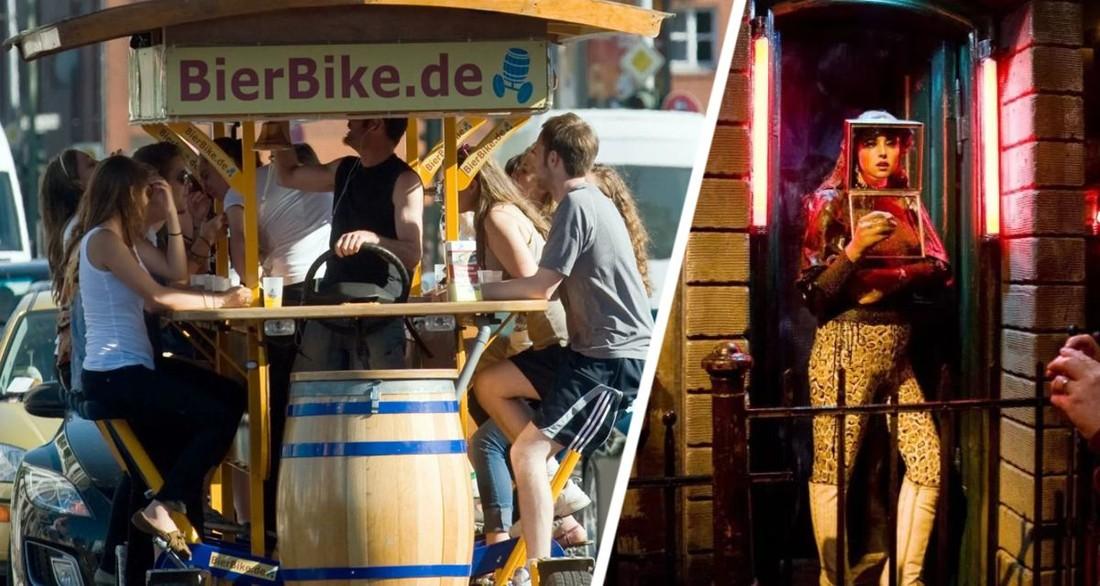 «Пьяные туристы, одетые как пенис, нам не нужны»: популярный город выгоняет туристов на окраину в пятиэтажный «эротический центр» с барами