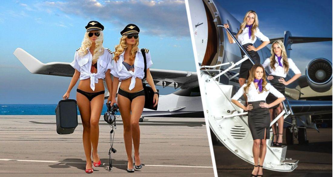 Стюардесса рассказала, как их в самолётах принуждают к сексу