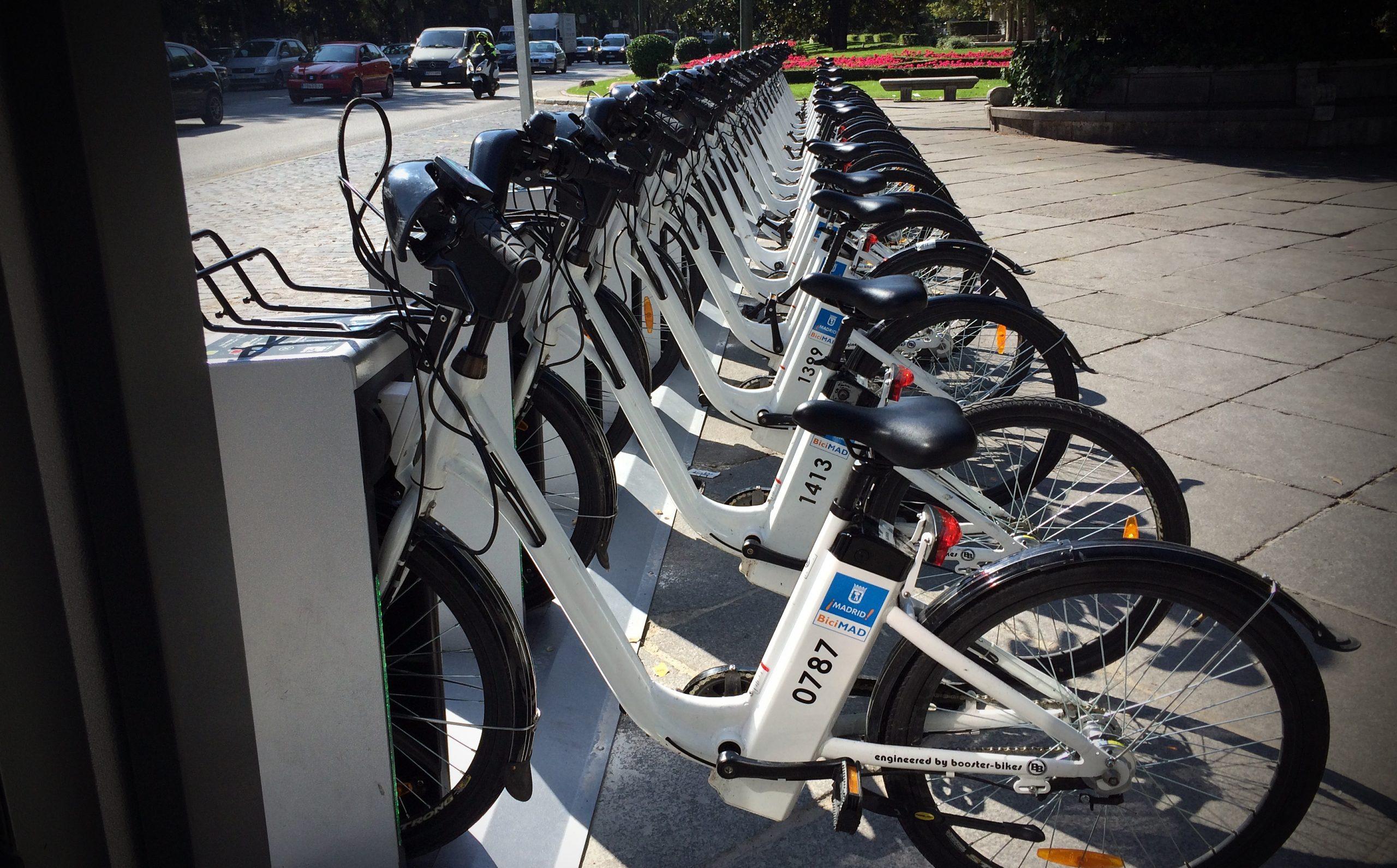 Бесплатный час проката BiciMAD в Мадриде в честь Дня велосипеда