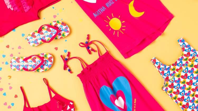 Испанский дизайнер Агата Руис де ла Прада создала детскую коллекцию для сети супермаркетов Carrefour
