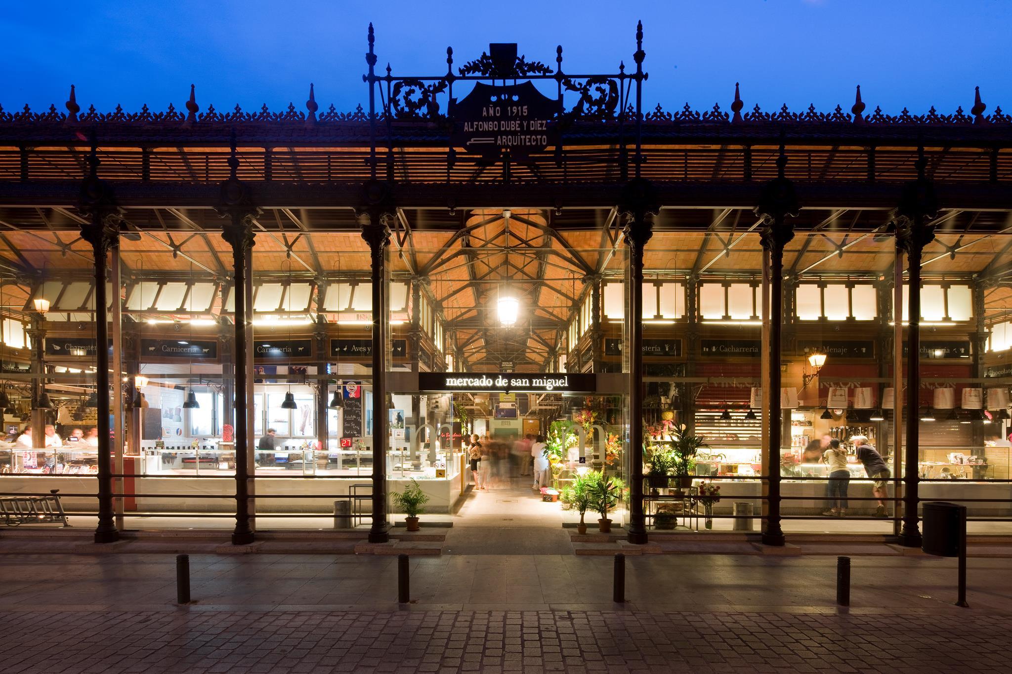 Рынок Mercado de San Miguel в Мадриде снова открывает свои двери