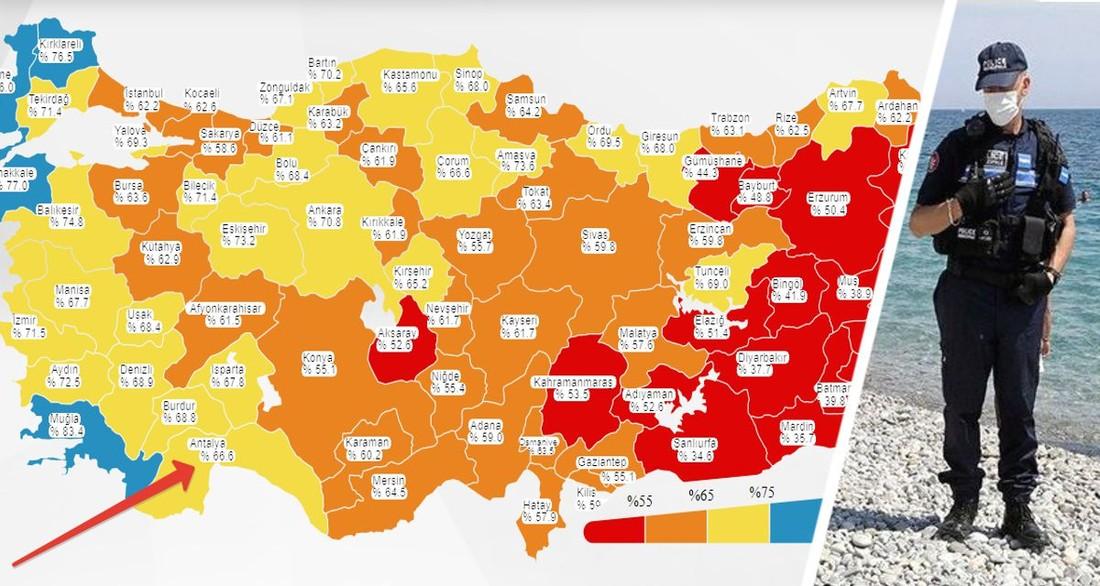 Туризм Турции испугался последствий и задумался о рисках