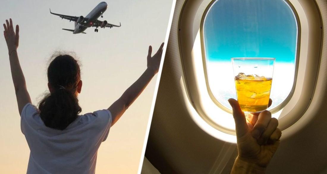 Стало известно, что каждый пятый россиянин употребляет алкоголь перед самолетом