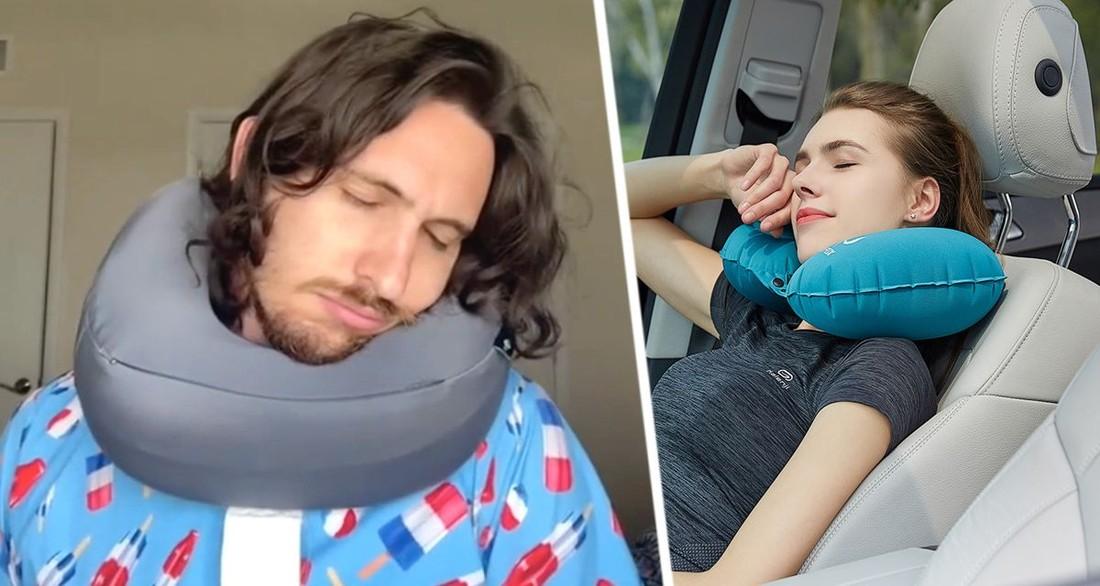Туристам пояснили, почему они неправильно используют дорожную подушку