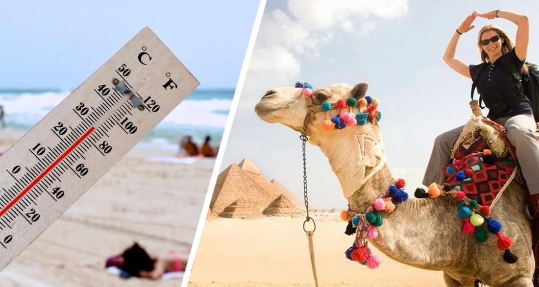 Туристов не спасает даже море: на курортах Египта установилась температура +40°C