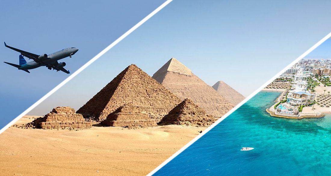 В Египте назвали дату прилета первых чартеров из России в Хургаду и Шарм-эль-Шейх