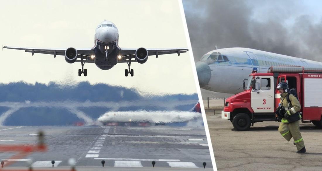 Летевший в Анталию самолет подал сигнал бедствия и запросил экстренную посадку: он сел на 1 двигателе