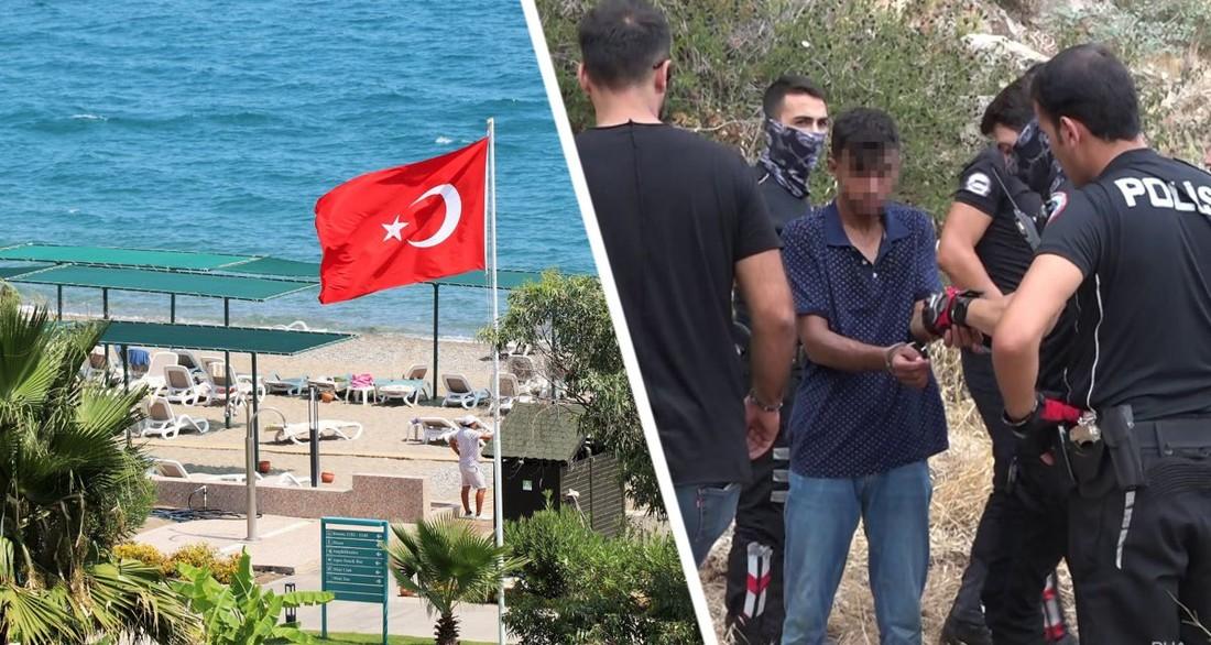В Анталии банды грабителей начали чистить туристов на пляжах: задержаны бандиты, пытавшиеся скрыться с награбленным