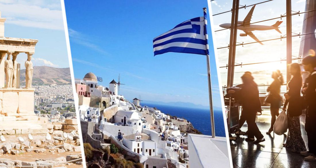 Туристам рассказали о всех рейсах в Грецию из Домодедово