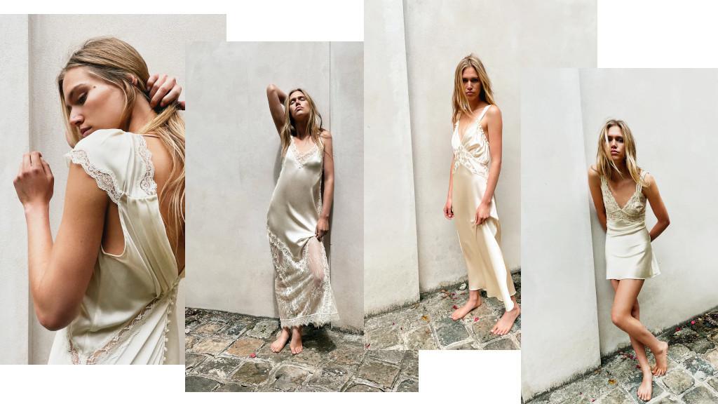 Zara запускает свадебную коллекцию