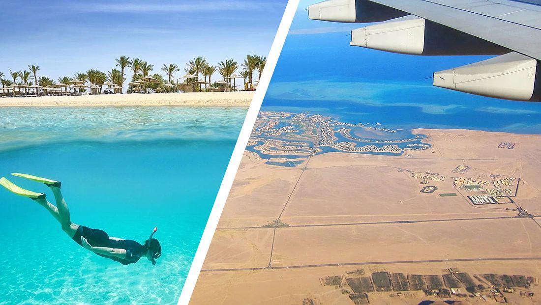 На египетский курорт Марса-Алам началось нашествие туристов