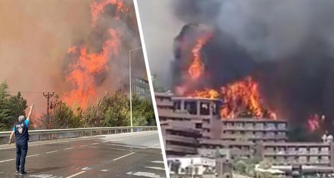 Это национальная катастрофа: в Турции тысячи туристов бежали из отелей на лодках