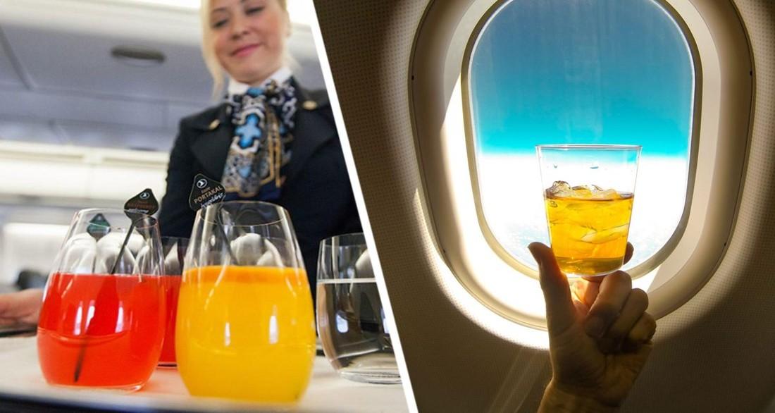 Стюардесса рассказала, как получить бесплатно дополнительные напитки в самолете