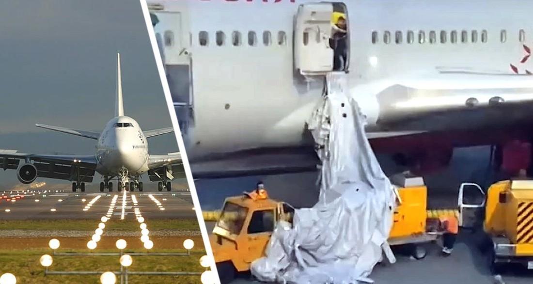 Туристы, вылетавшие в Турцию, испытали шок на борту самолета