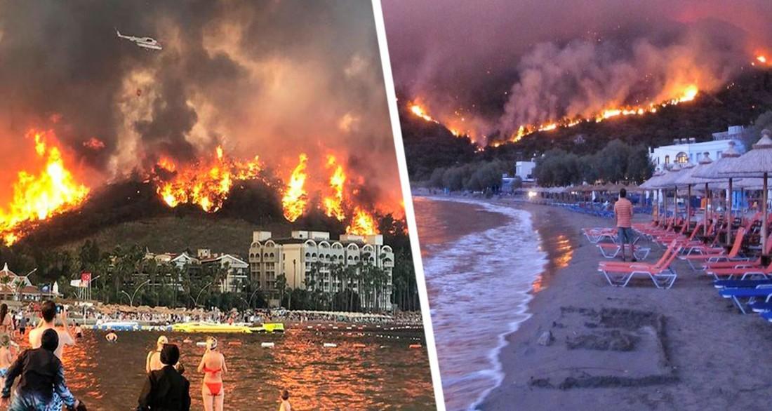 Гид сбежал, всюду гарь, нечем дышать: российские туристы в горящей Турции были шокированы поведением представителя турфирмы