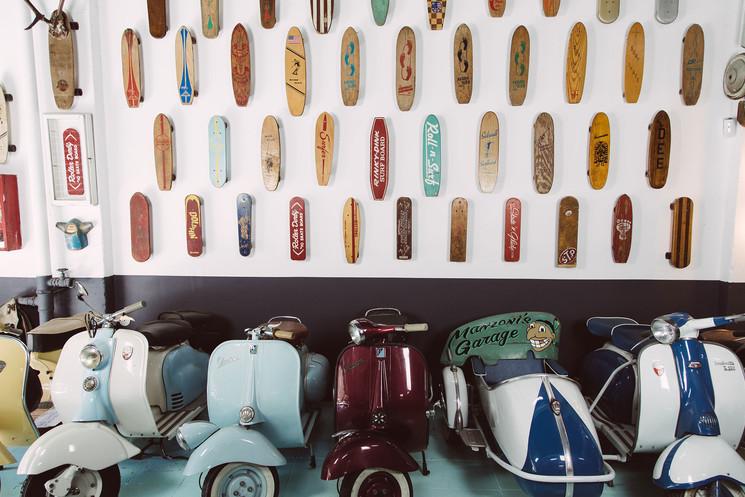Первый в Испании музей скейтбординга находится в Барселоне