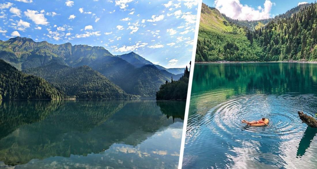 В Абхазии российских туристов предупредили об опасности купания в самом популярном месте