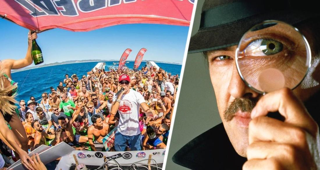 Популярный курортный остров нанимает детективов для внедрения на вечеринки туристов и их ареста