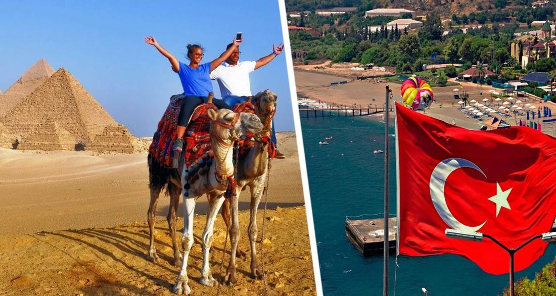 Египет обходит Турцию: выдано сразу 225 допусков для перевозки российских туристов в Хургаду и Шарм-эль-Шейх
