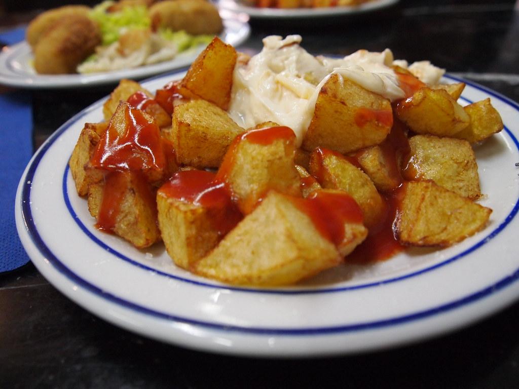 Секреты картофеля рatatas bravas