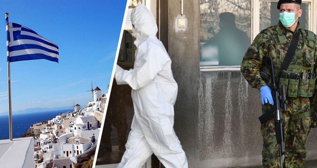 На самом популярном у россиян курорте Греции введен комендантский час