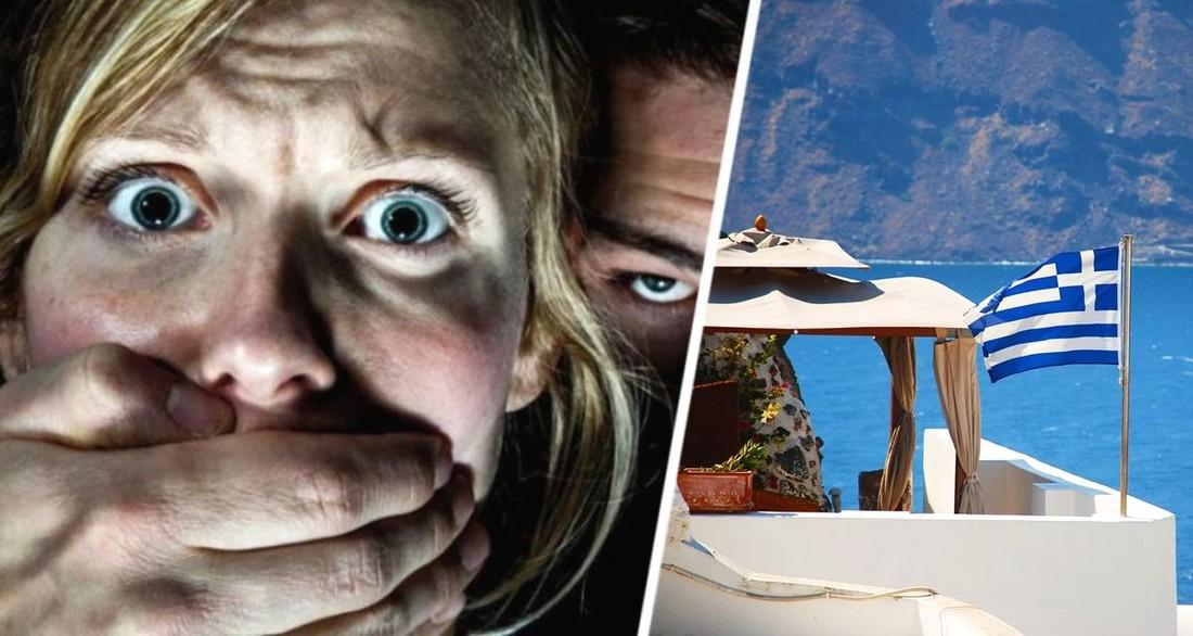 Групповое изнасилование туристки совершено на курорте в Греции