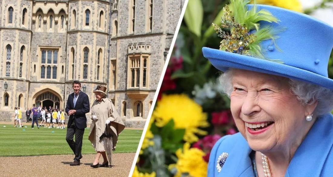Королева Елизавета II дала английский ответ группе иностранных туристов