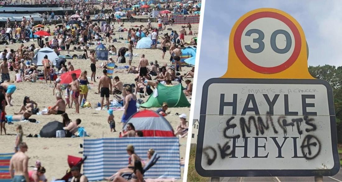Идите и умрите: туристы шокированы надписью перед въездом на курорт