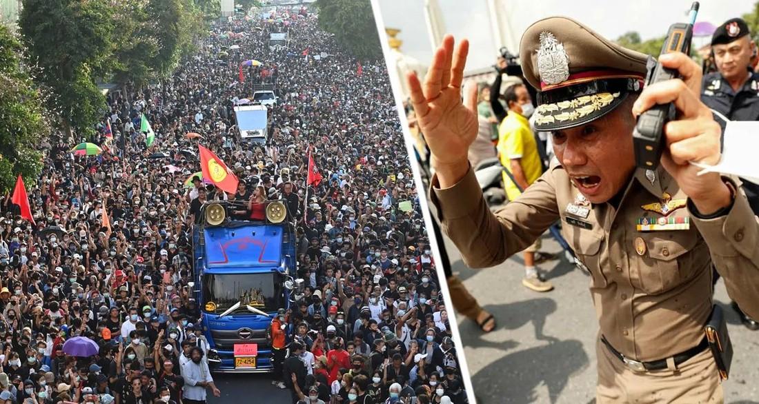 Туристов предупредили, что по всему Таиланду начинаются ежедневные бессрочные протесты населения